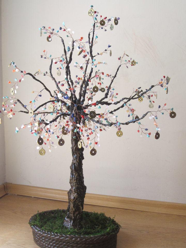 Дърво на парите и богатството-7 чакри